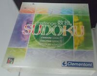 Clementoni  Challenge Sudoku NEW SEALED