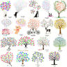 Wedding Guest Book Fingerprint Thumbprint Tree Unique Signature Painting +Inkpad