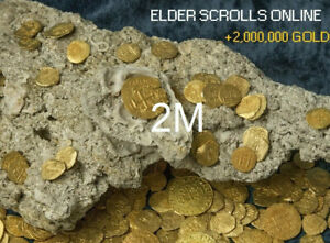 ELDER SCROLLS ONLINE 2M (2000K) GOLD PC NA ESO