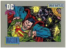 Invasion! #155 Impel 1991 DC Comics Trade Card (C289)