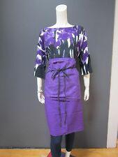 45rpm 100 % cotton top NEW with TAG no size   with matching apron