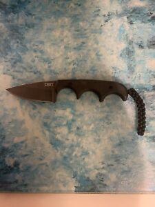 CRKT COLUMBIA RIVER KNIFE TOOL FOLTS 2384K MINIMALIST NECK SURVIVAL KNIVES