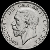 1931 George V Silver Half Crown, Scarce, EF