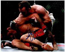 JACOB VOLKMANN Signed Autographed UFC MMA 8X10 PIC. H