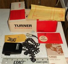 TURNER Road-King 60 With Box CB amplified microphone