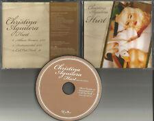 CHRISTINA AGUILERA Hurt w/ RARE INSTRUMENTAL PROMO DJ CD single USA 2006 MINT