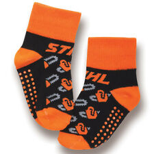 Officially Licensed Stihl Infant/Toddler Chainsaw Socks with grippers