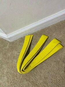 Kid's Yellow Karate Belt for Martial Arts Tae Kwon Do Judo BBJ Ninja Children
