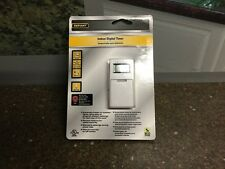 Defiant 5-amp In-wall Digital Timer W/ No Neutral Wire 7 Day progammable 470906