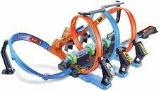 Hot Wheels Corkscrew Crash Track Set Kids Play Cars Racing Ultimate Speed Xmas