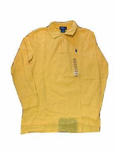 NEW Kids boys Ralph Lauren polo Classic-Fit Mesh Cotton Polo Shirt size M L