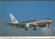 Aviation Postcard - American Airlines Boeing 767-223ER Aeroplane A8253