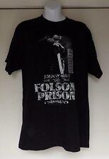 JOHNNY CASH AT FOLSOM PRISON BLACK SHORT SLEEVE T-SHIRT HOT TOPIC SIZE MEDIUM