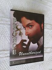 PRINCE: UNAUTHORIZED – DVD, R-ALL, LIKE NEW, FREE POST WITHIN AUSTRALIA