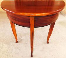 Wand Wohn Beistell Tisch Konsole Edelholz Table Console Biedemeier antik