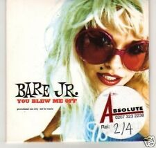 (A945) Bare Jr, You Blew Me Off - DJ CD