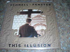 Schnell Fenster This Illusion vinyl 45 single Australia (split enz) 1988