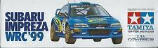 KIT TAMIYA 1:24 AUTO DA MONTARE E COLORARE  SUBARU IMPREZA WRC '99 ART 24218
