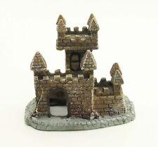 Aquarium Decor Medieval Castle Ornament Fish Tank Decoration Resin Castle Decor