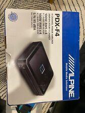 Alpine PDX-F4 4-Channel Car Amp