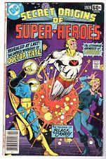 DC Special #10 Secret Origins Dr. Fate, Lightray & Black Canary, Very Good Cond'