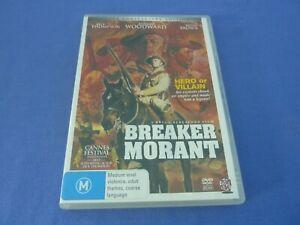 Breaker Morant DVD Jack Thompson Edward Woodward R0 Free Postage