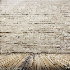 Brand New LB 10x10ft Brick Wall Floor Vinyl Backdrop Photography Background ZZ44