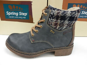 Spring Step Womens Marylee Boot Navy 41