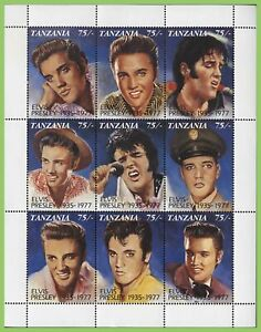 Tanzania 1992 Elvis Presley Souvenir sheet MNH
