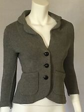 Banana Republic Heritage Womens Size Extra Small Cardigan Gray Sweater Cotton XS