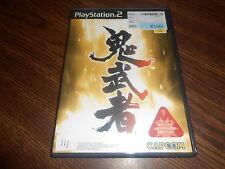 Onimusha: Warlords (Sony PlayStation 2, 2001) - Japanese Version US Seller