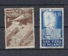 Italia Repubblica 1951 29 Fiera di Milano 657-58 usato