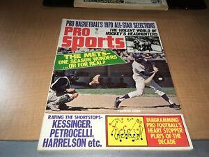 Pro Sports May 1970 Baseball Football Hockey and More Magazine Willie Mays Cover