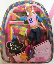 School Cool Barbie Doll with Backpack (New)