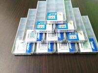 (10) ISCAR XCMT 050204-MF IC908 / XCMT 05 02 04-MF IC908 10 PCS CARBIDE INSERTS