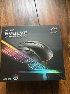 BRAND NEW - ASUS ROG, Strix, Evolve, Gaming Mouse
