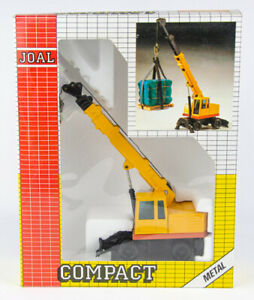 Joal Compact #236 Metal Telescopic Crane 1:50 Scale