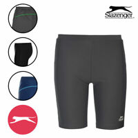 Boys Swimwear Trunks Junior Slazenger Swimming Jammers Shorts 4 Colours Age 7-13