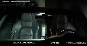 Honda S2000 LED Interior Package - Dome + Trunk Lights (Supernova Brightness)