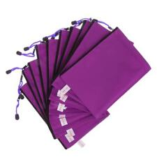 10Pcs A4 Purple Zip Bags Document Storage Filing Wallet File Holder/Folder