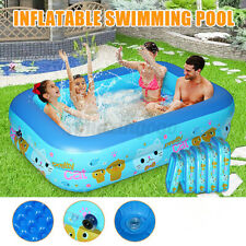 Inflatable Swimming Pool Family Fun Summer Outdoor Play Pvc Large Children Kids