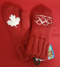 2010 Vancouver Olympics Child's Youth's 1 Size Mittens. New W Tags. Hudson's Bay