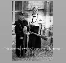 WW2 German Children Anti Tank Weapon PHOTO Panzerfaust World War 2 Germany Kids