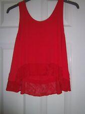 Matalan - Papaya - Ladies Top - Red - Size 10