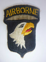 Patch - 101st AIRBORNE - RIGHT FACING SCREAMING EAGLE - US Vietnam War - 1373