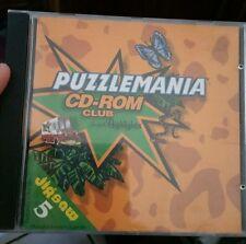 Puzzlemania CD ROM Club PC GAME - FREE POST