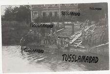 Lippebrücke Paderborn Soldaten Brücke Häuser Nordrhein Westfalen Postkarte TOP