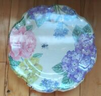 Winterthur Museum Garden & Library Exclusive Floral Melamine Plates Set of 4 New