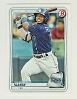 2020 Bowman Prospects #BP-1 WANDER FRANCO RC Rookie Tampa Bay Rays