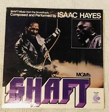 ISAAC HAYES: Shaft Music from Soundtrack US Enterpise Soul Funk OST LP Orig